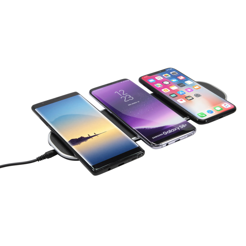 TrioCharge Wireless Charger - Apple iPhone X Charger