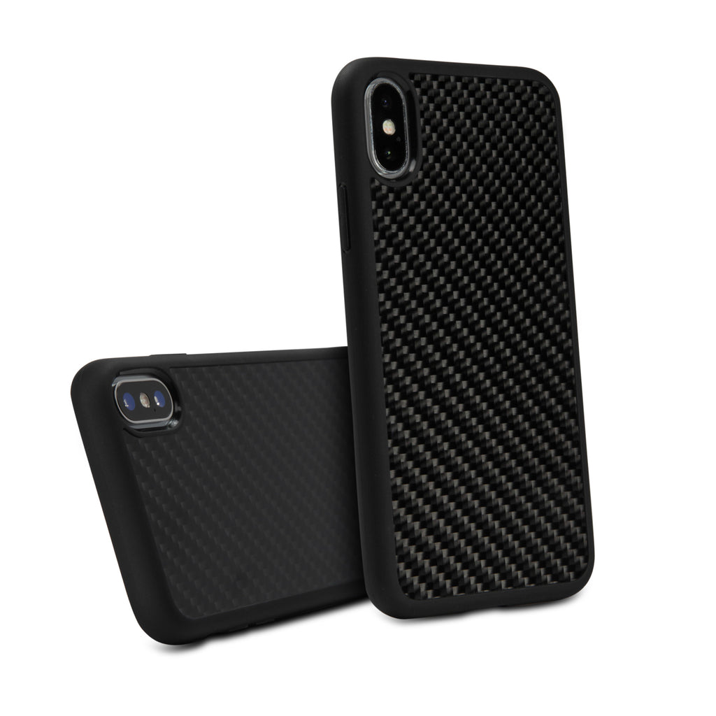 True Carbon Fiber Minimus Case - Apple iPhone X Case