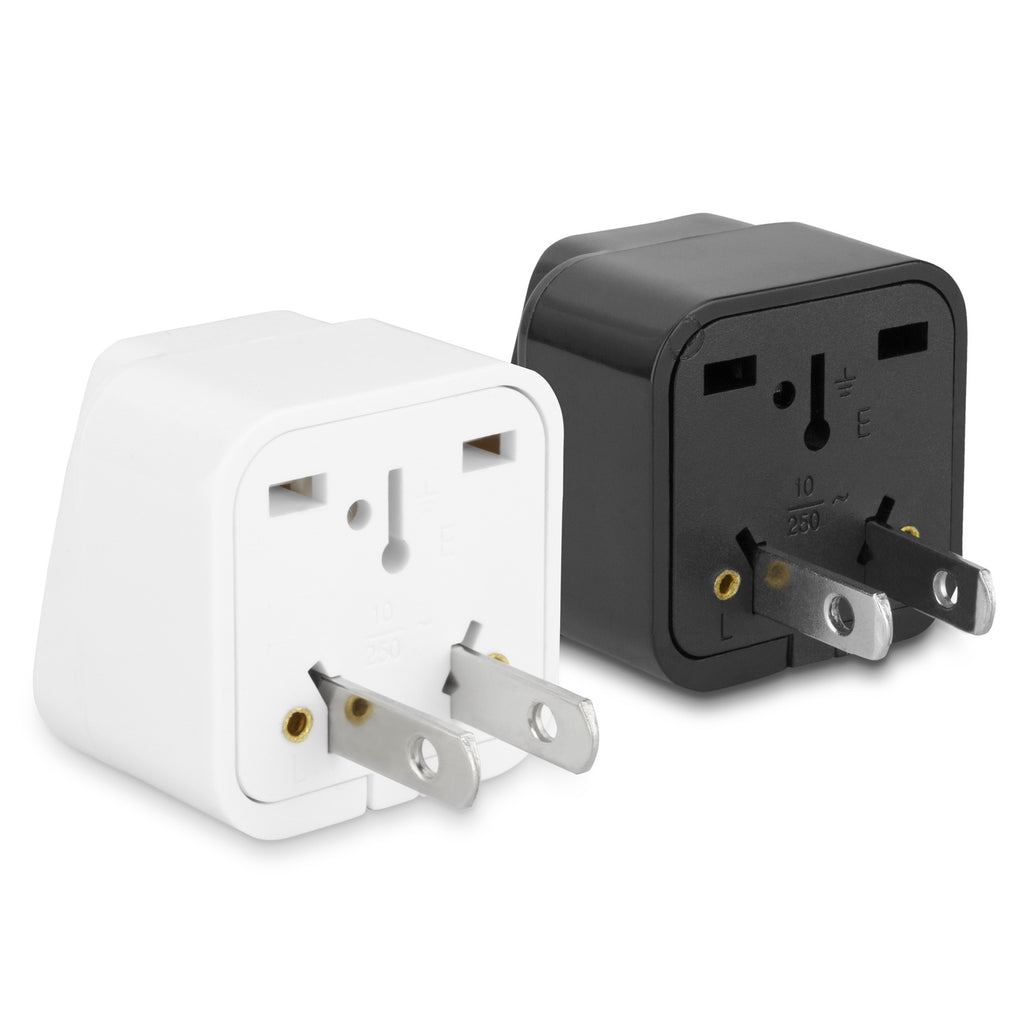 Universal to American Outlet Plug Adapter - Black