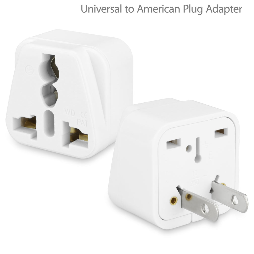 Universal to American Outlet Plug Adapter