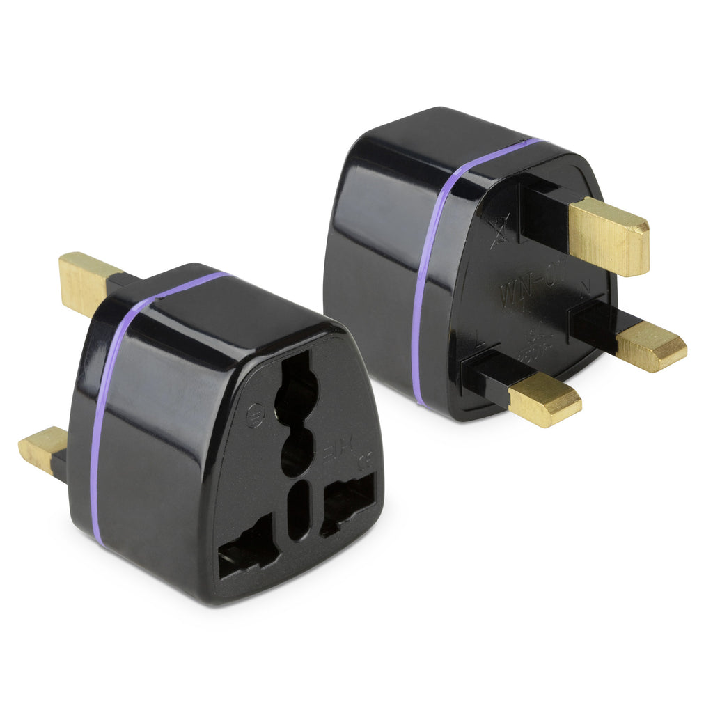 Universal to UK Outlet Plug Adapter