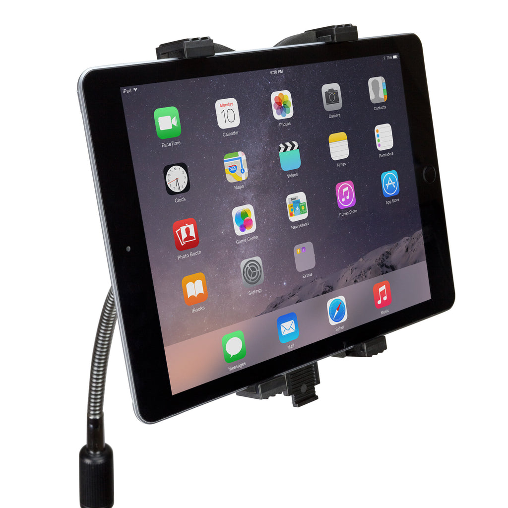 Vantage Tablet Mount Floor Stand - Gooseneck - Apple iPad 2 Stand and Mount