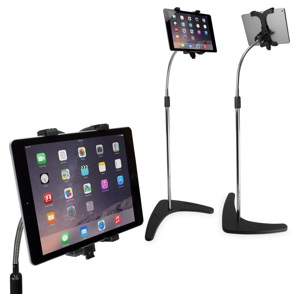 Vantage Tablet Mount Floor Stand - Gooseneck - Microsoft Surface Pro Stand and Mount