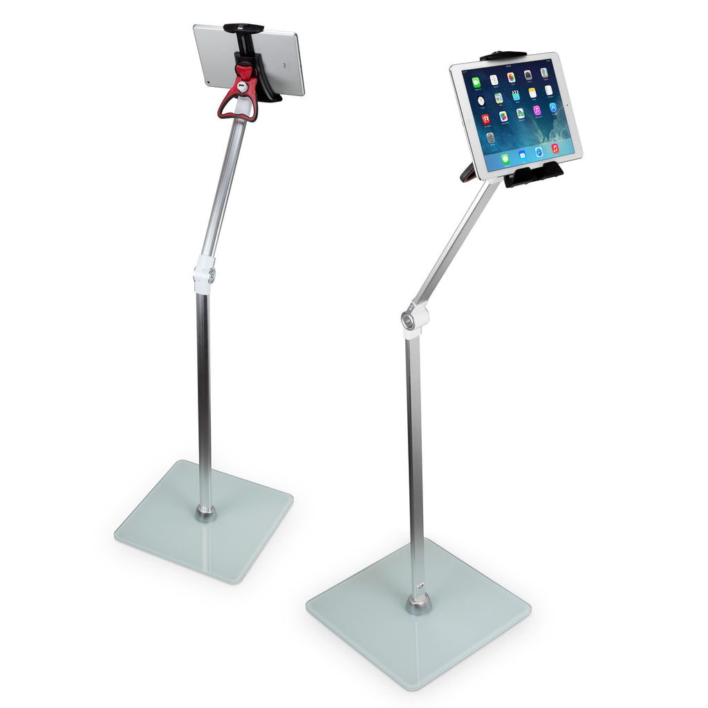 Vantage Tablet Mount Floor Stand - Tilt Arm - Samsung Galaxy Tab Stand and Mount