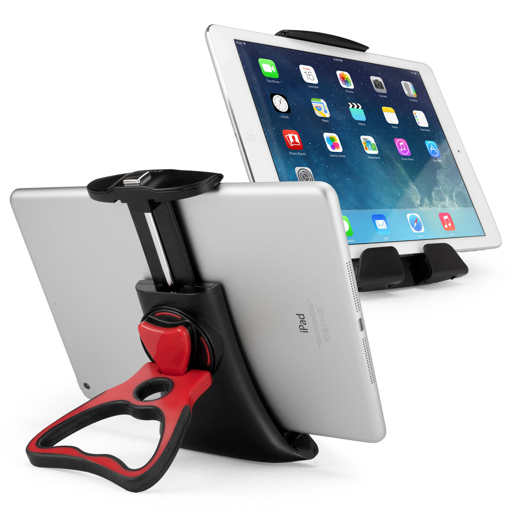 Vantage Tablet Mount Floor Stand - Tilt Arm - Apple iPad Stand and Mount