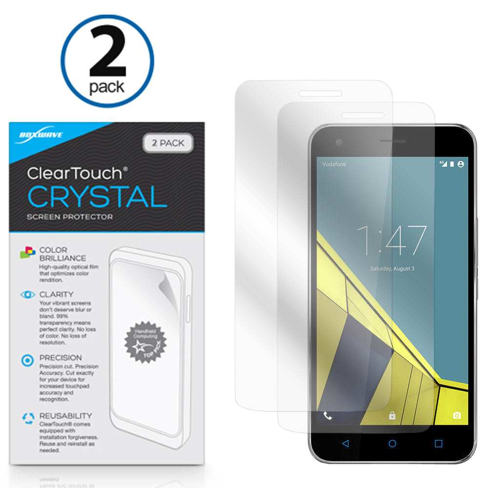 ClearTouch Crystal (2-Pack) - Vodafone Smart Ultra 6 Screen Protector