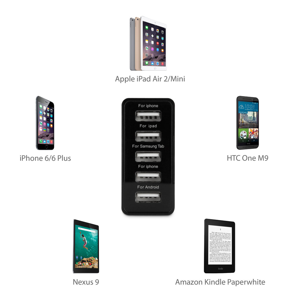 WeShare PowerPort - Samsung Galaxy S2, Epic 4G Touch Charger