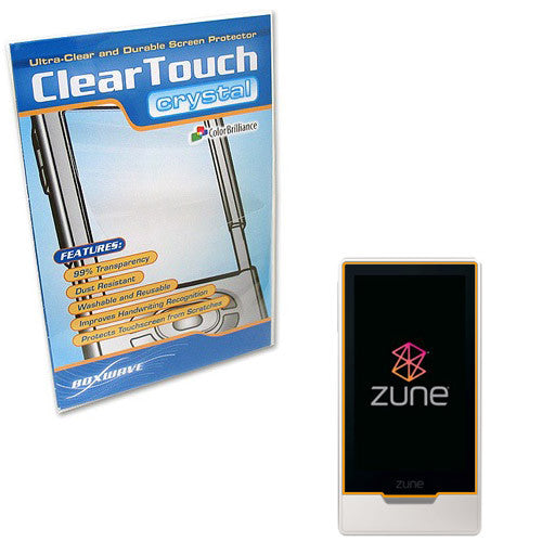 ClearTouch Crystal - Microsoft Zune HD 32GB Screen Protector
