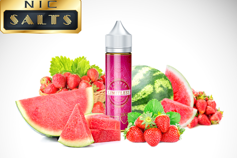 FRISBEE - Nic Salts - Signatureblends.ca - a perfect blend of sweet watermelon and strawberry