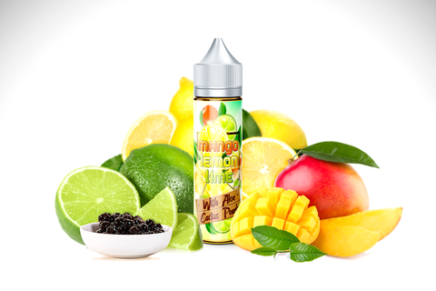 Mango Lemon Lime With Aloe & Cactus pearls - Signatureblends.ca