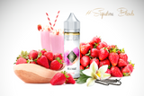 Online Shop | Vape | E Liquid | Canada | Best Seller | BLISS - Milkshake - sweet strawbeeries scoop of vanilla bean icecream and chilled milk Signatureblends.ca