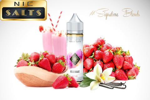 Online Shop | Vape | E Liquid | Canada | Best Seller | Bliss - Milkshake - Nic Salts - Signatureblends.ca