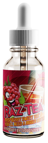 Raz Tea - Signatureblends.ca - A perfect Blend for Raspberry and hints of sweet tea -- Now available in Chubby Bottles