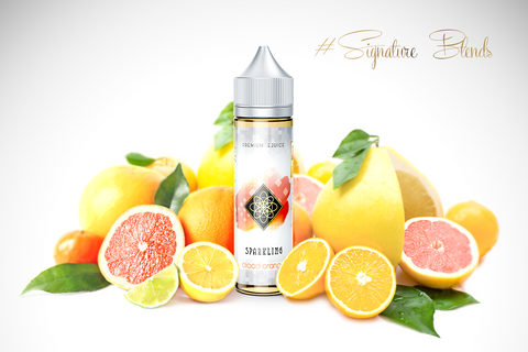 SPARKLING BLOOD ORANGE - Signatureblends.ca Sparkling blood orange with a distinct touch and delicate citrusy notes.  Tangy, sweet and deliciously refreshing.