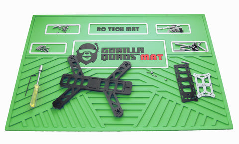 Gorilla Quad TechMat  GREEN 25'' x 19''