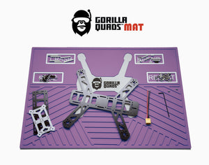 GORILLA QUADMAT PURPLE 20'' X 14''
