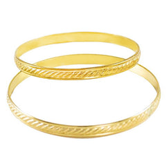 Gold-Filled Bangles