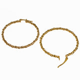 Twist Hoop Earrings 0411332