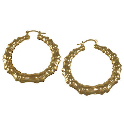Miami Bamboo Hoop Earrings 04818010
