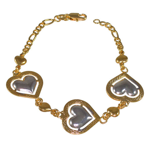 Three Hearts Bracelet 2232401