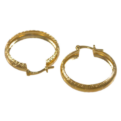 Textured Hoop Earrings 24326010