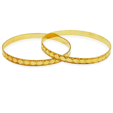 Simple and Elegant Carved Bangle