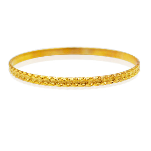 Fancy Oval Bangle