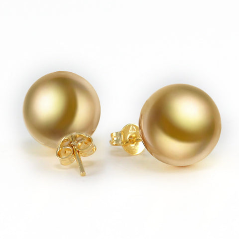Gold-Filled Pearl Earring 0453106