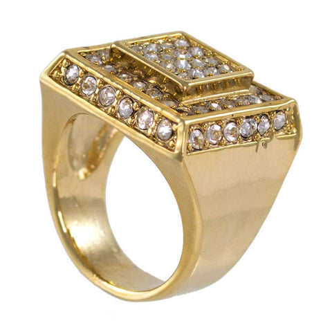 Men's Ring, Gold layered #1