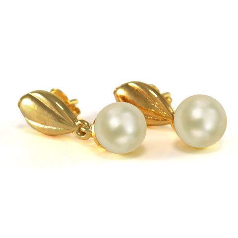 Pearl, Gold-Filled Earring 0447905