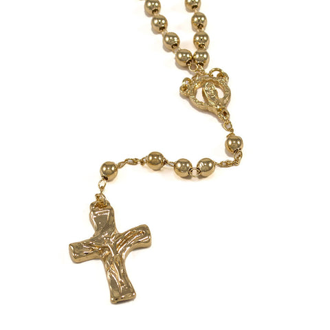 Rosary, Gold-Layered T-03