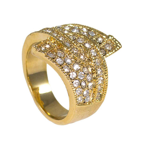 Woman's Ring, Gold Layered GKM-069