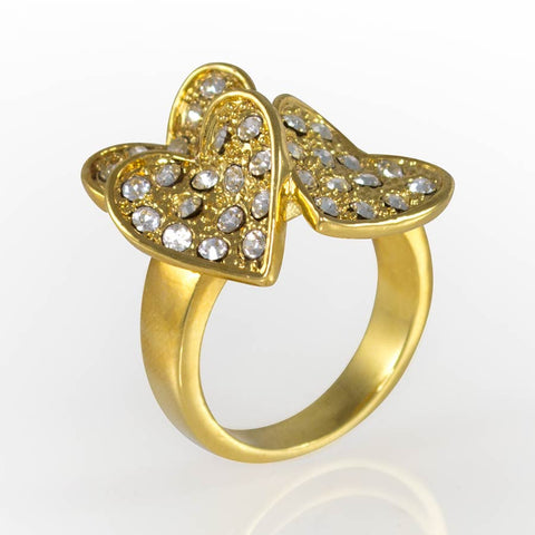 Woman's Ring, Gold Layered GKL-258