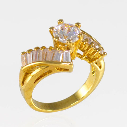 Woman's Ring Gold-Layered PS#1332