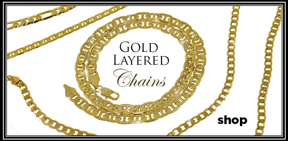 Gold Layered Chains
