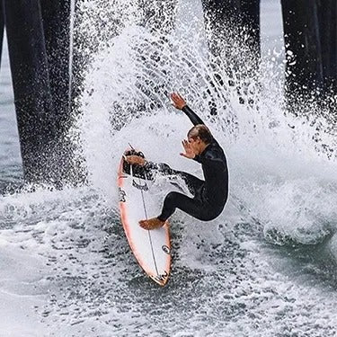 Jeremy Carter Surfing