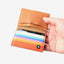 Horizon Bifold Wallet | Red/Orange/Blue/Brown
