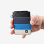 Gravel Vertical Cardholder | Black/Blue/Tan