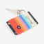 Horizon Elastic Card Holder | Orange/Red/Blue