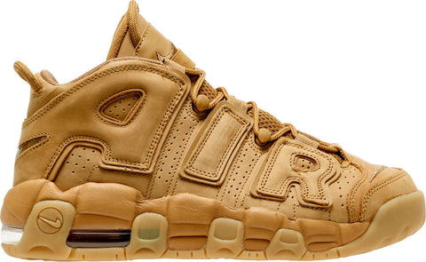 premium selection 0faa8 e220b NIKE Kid s Air More Uptempo SE GS, Flax Flax-Gum Light Brown