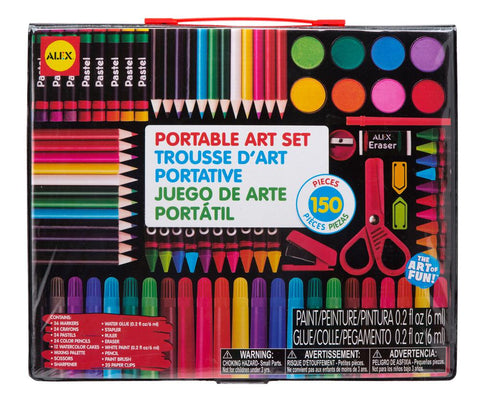 ALEX - TROUSSE D'ART PORTATIVE