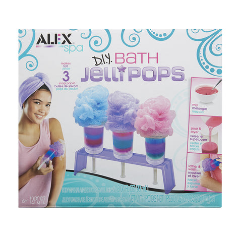 ALEX SPA - BATH JELLIPOPS