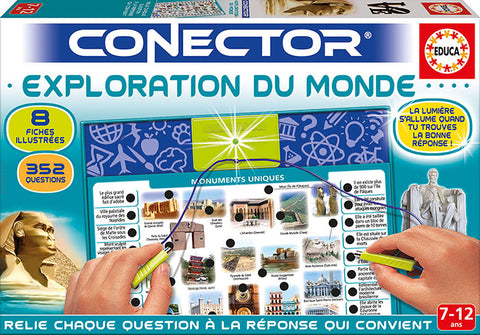 EDUCA - CONECTOR EXPLORATION MONDE