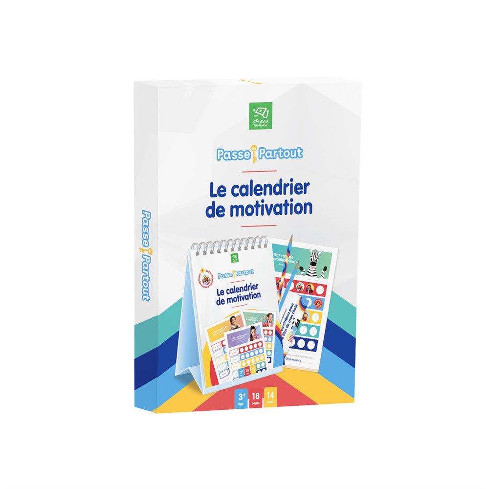 PASSE-PARTOUT - CALENDRIER DE MOTIVATION