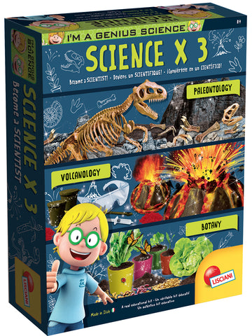 I'M A GENIUS - COFFRET SCIENTIFIQUE X3