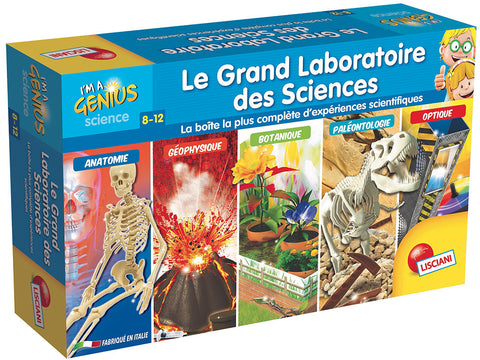 I'M A GENIUS- GRAND LABO DES SCIENCES