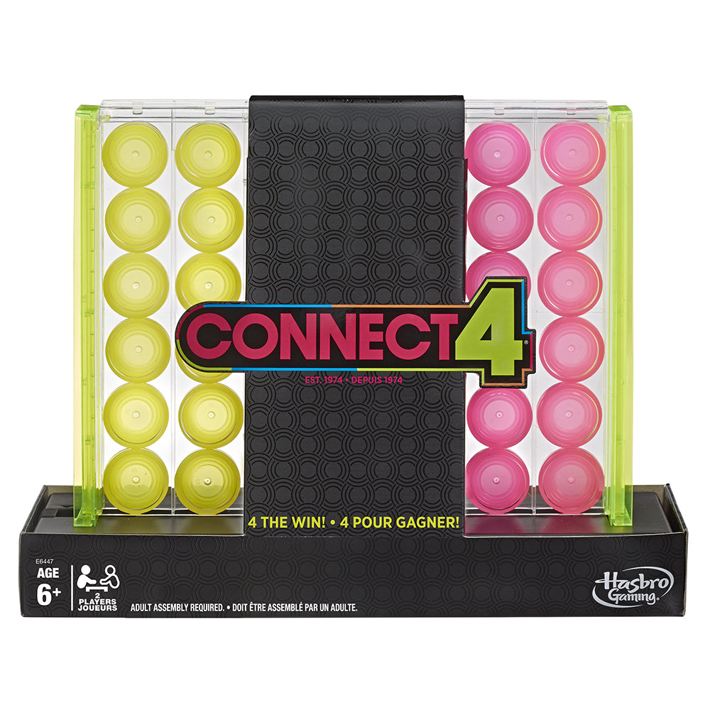 HASBRO- CONNECT4 NEON