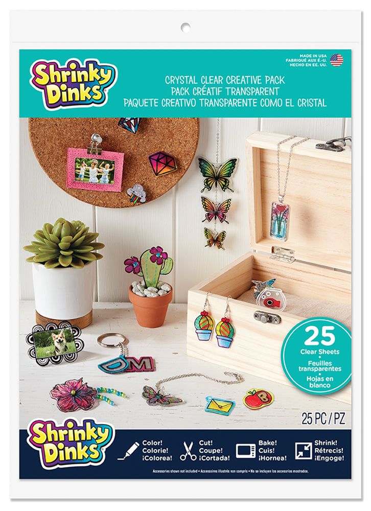 SHRINKY DINKS - 25 CREATIONS CRISTAL