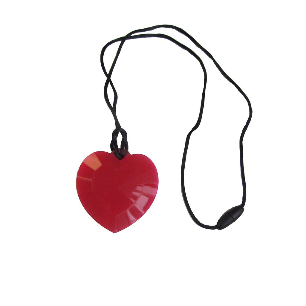 COLLIER MACHOUILLE COEUR ROUGE