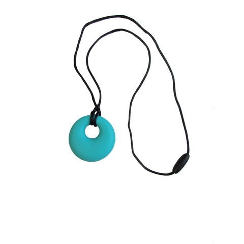 COLLIER MACHOUILLE CERCLE TURQUOISE